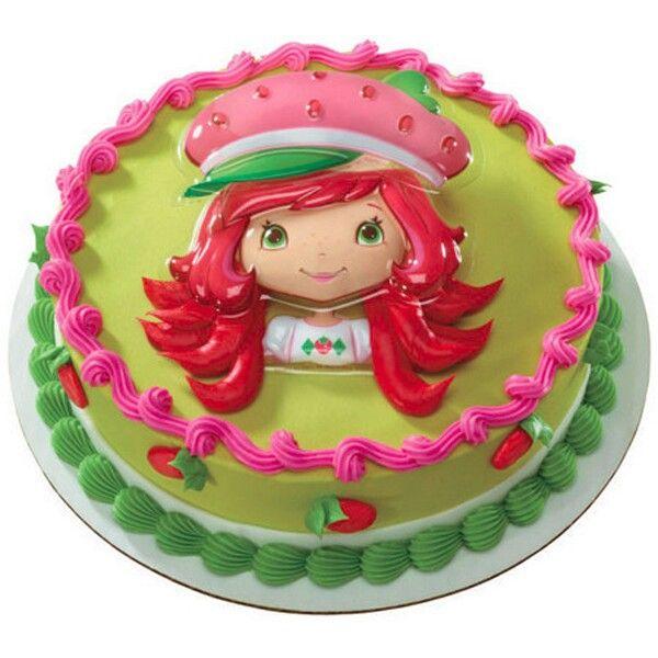 Strawberry shortcake cake   Khiarie's 2nd bday   Pinterest