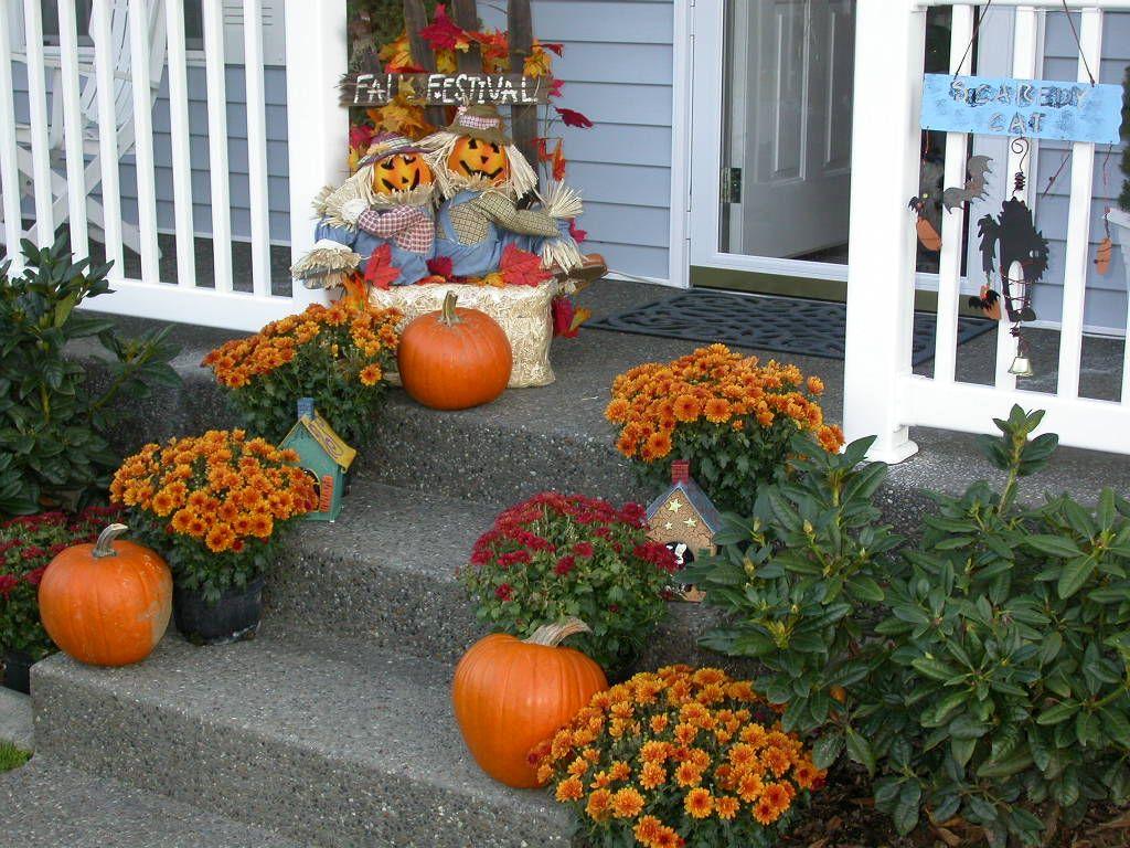 Exterior Fall Home Decor Halloween Fall Pinterest
