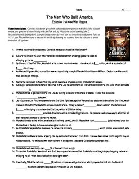 America the story of us episode 2 worksheet answer key