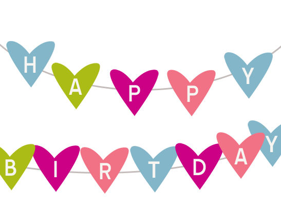 Printable Happy Birthday Banner – Printable Pages