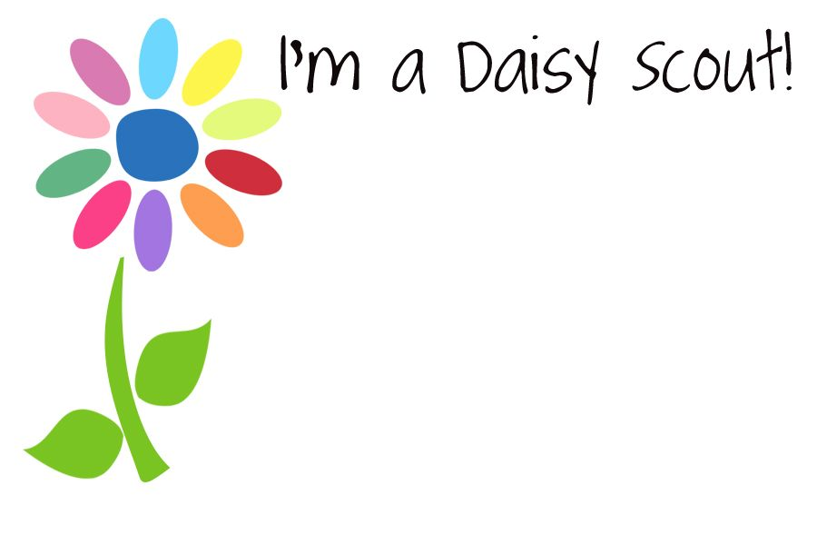 Daisy Scout tags | Girl Scouts | Pinterest