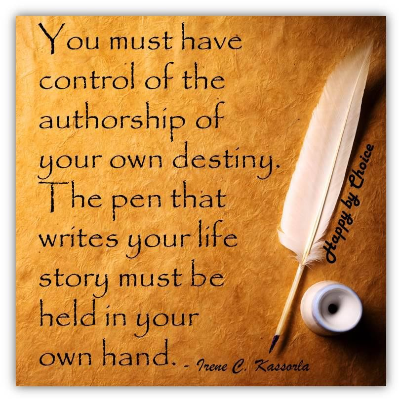 take control of your own destiny inspirational quotes
