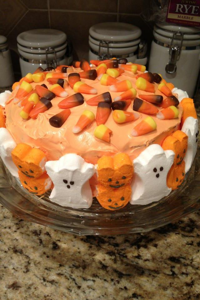 Cute and easy halloween cake yummy recipes pinterest Cute easy halloween cakes