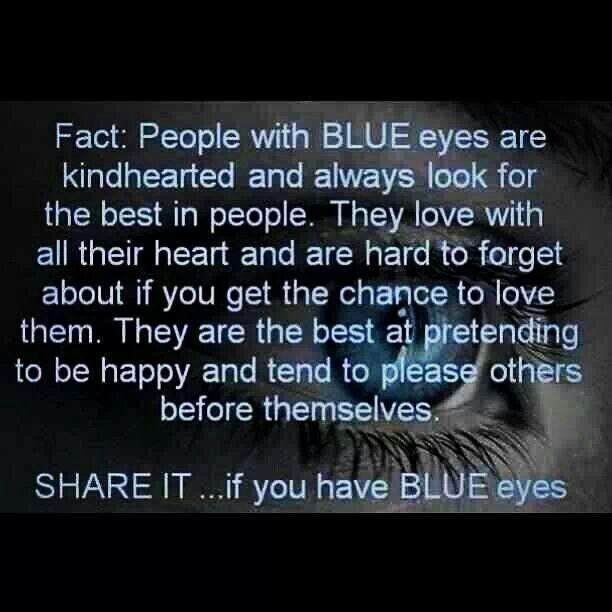 Blue Eyed People 96