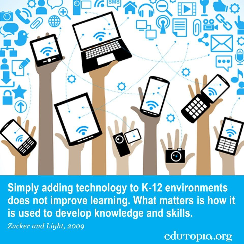 technology integration in learning essay Taking technology out of the learning equation would be alienating an   children use laptops and tablets for their work and integrate things.