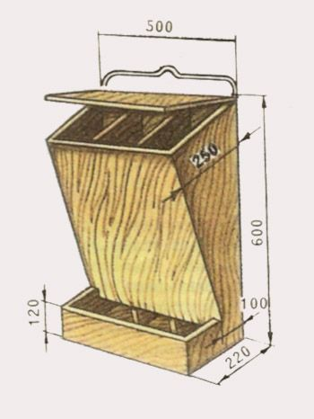Как сделать бункерную кормушку для кур своими руками 41