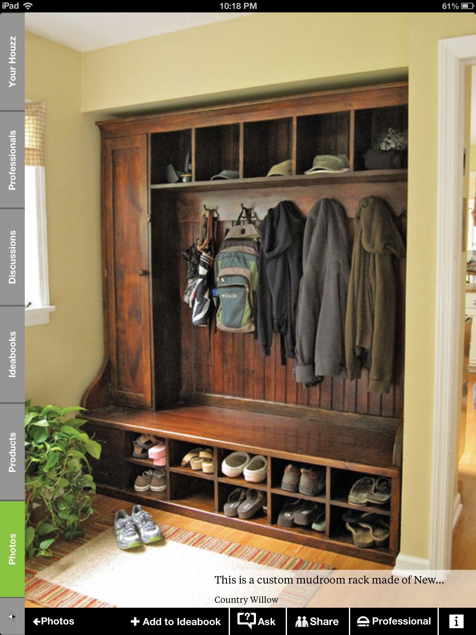 Entryway storage ideas for the home pinterest - Front entry storage ideas ...