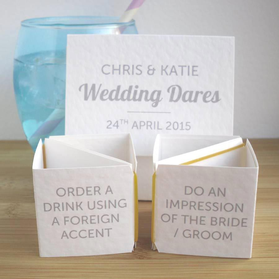 Ice breakers wedding