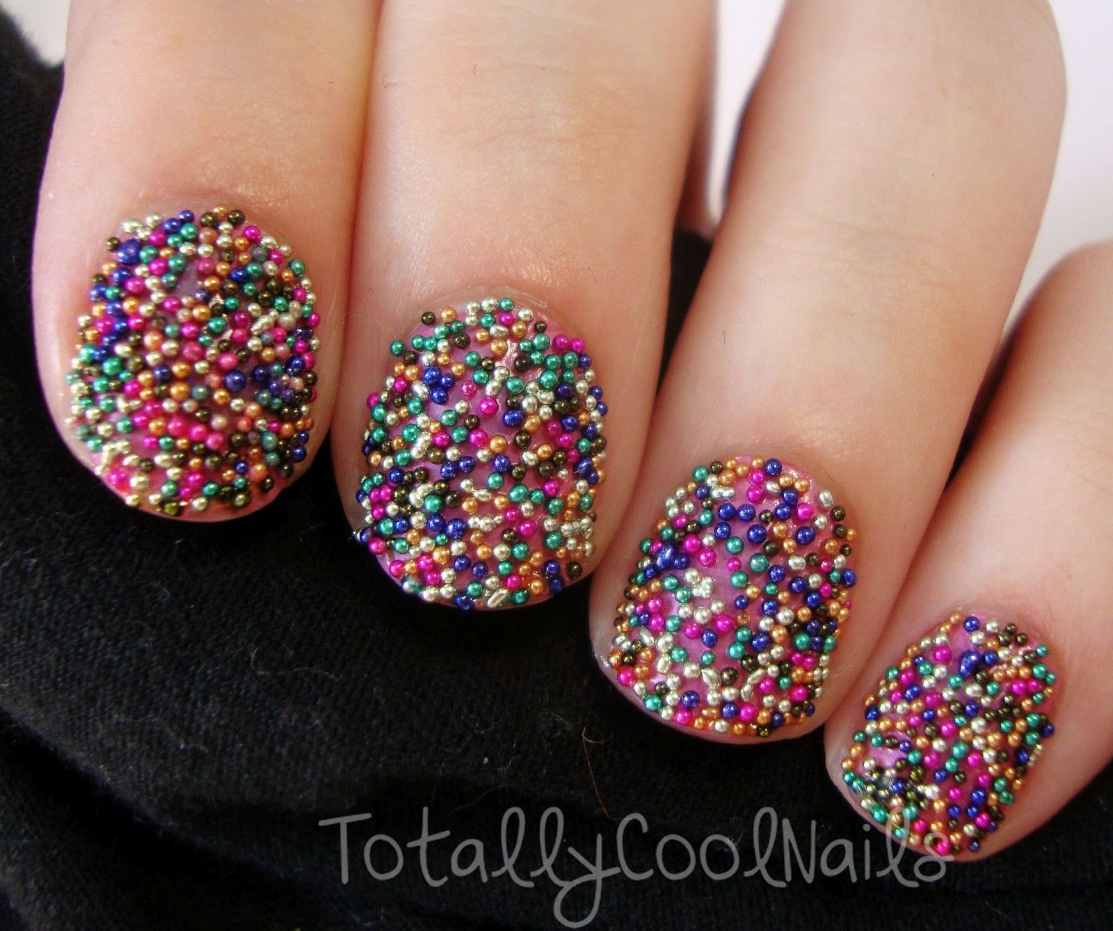 Reindeer dust free image nail art collection for women on