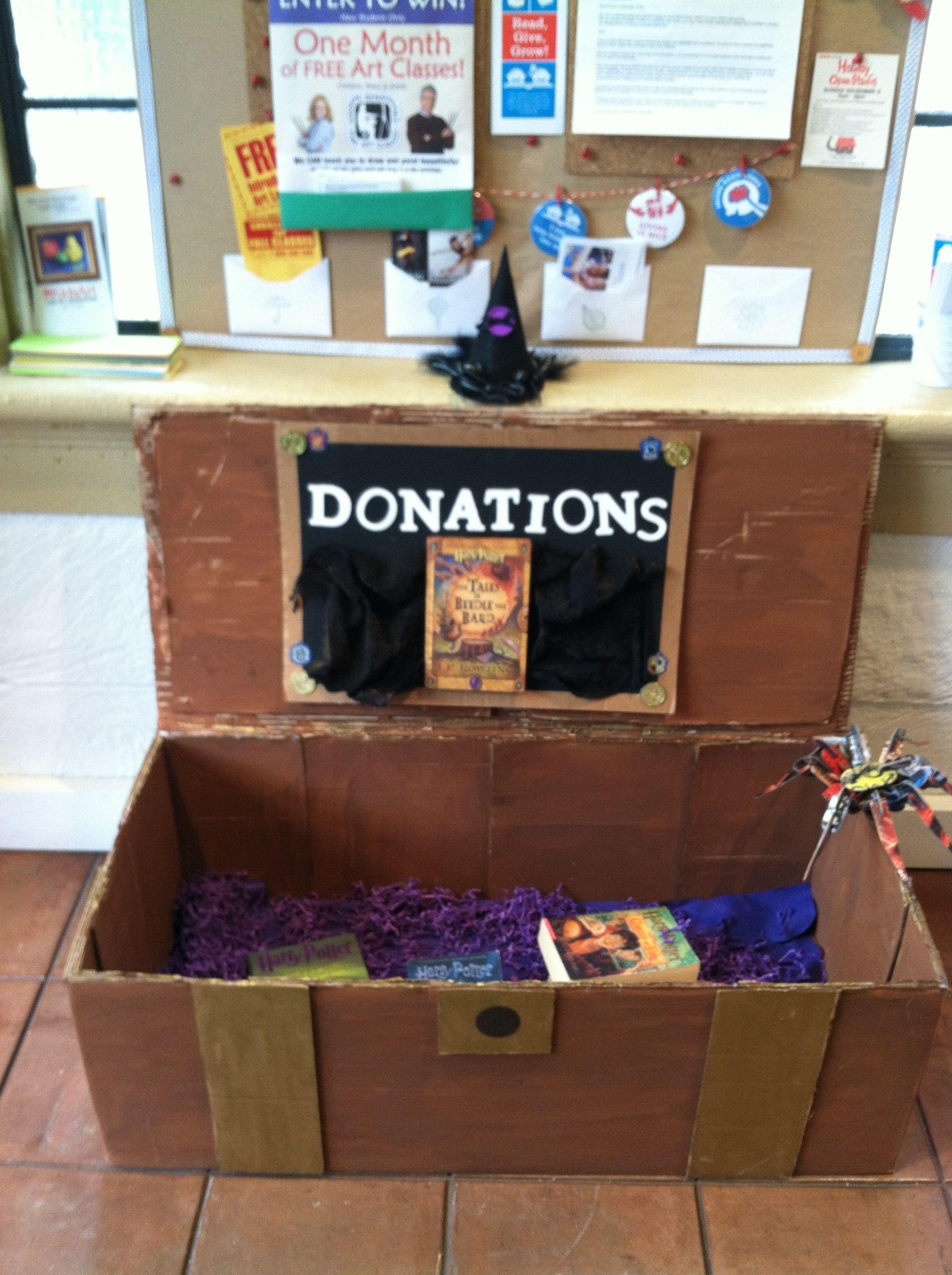 cardboard treasure chest | OOOOH! Crafty! | Pinterest