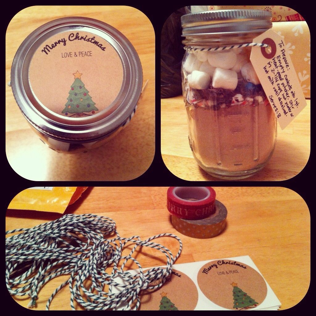 Homemade christmas gifts for co workers xmas decorating pinterest