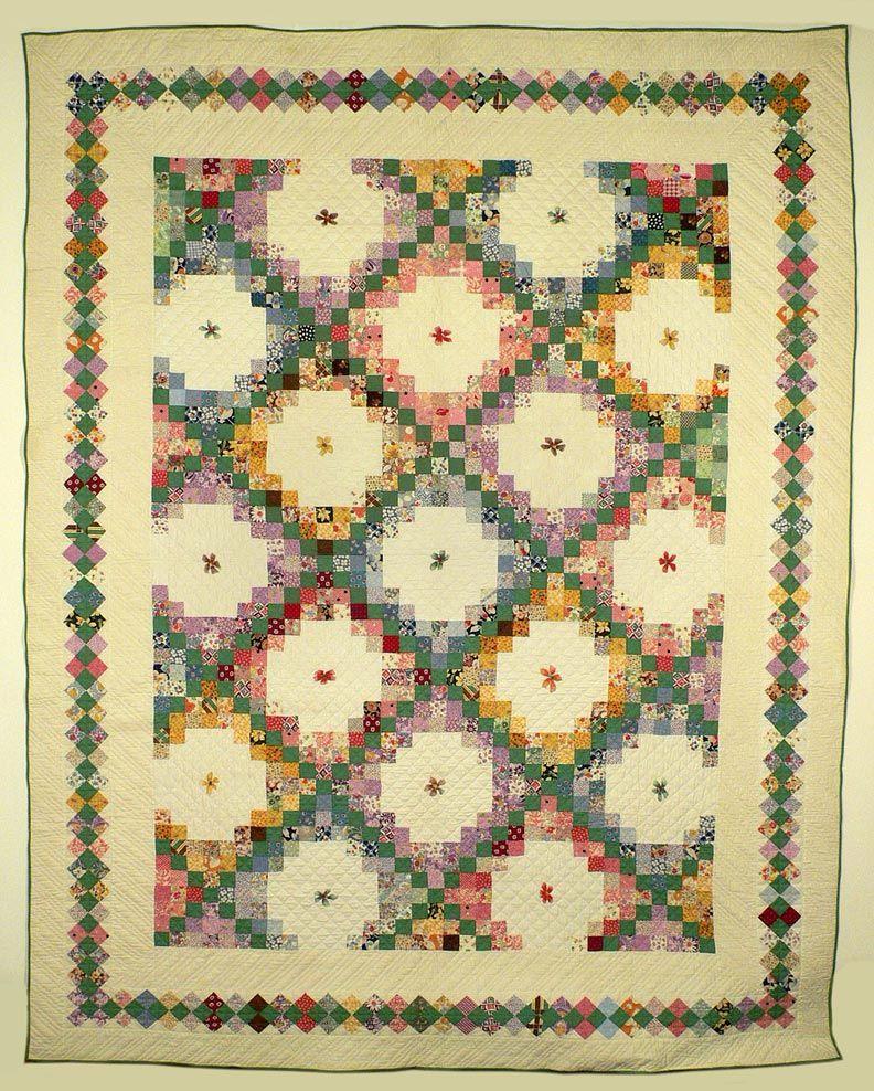 Irish Quilting Patterns : Irish Chain Quilt Quilting Pinterest