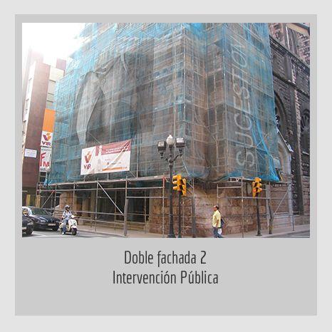 DOBLE FACHADA .YENY CASANUEVA Y ALEJANDRO GONZÁLEZ. PROYECTO PROCESUAL ART
