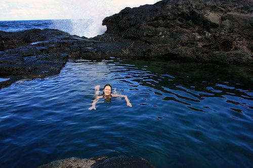 how to get to olivine pools