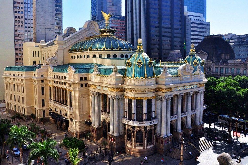 teatro municipal rio janeiro brasil: