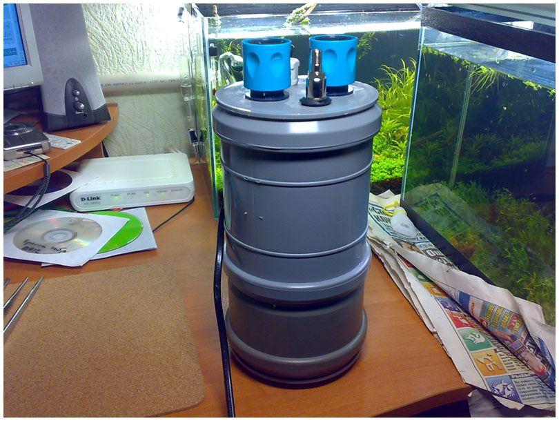 Наружный фильтр для аквариума 200 литров своими руками 36