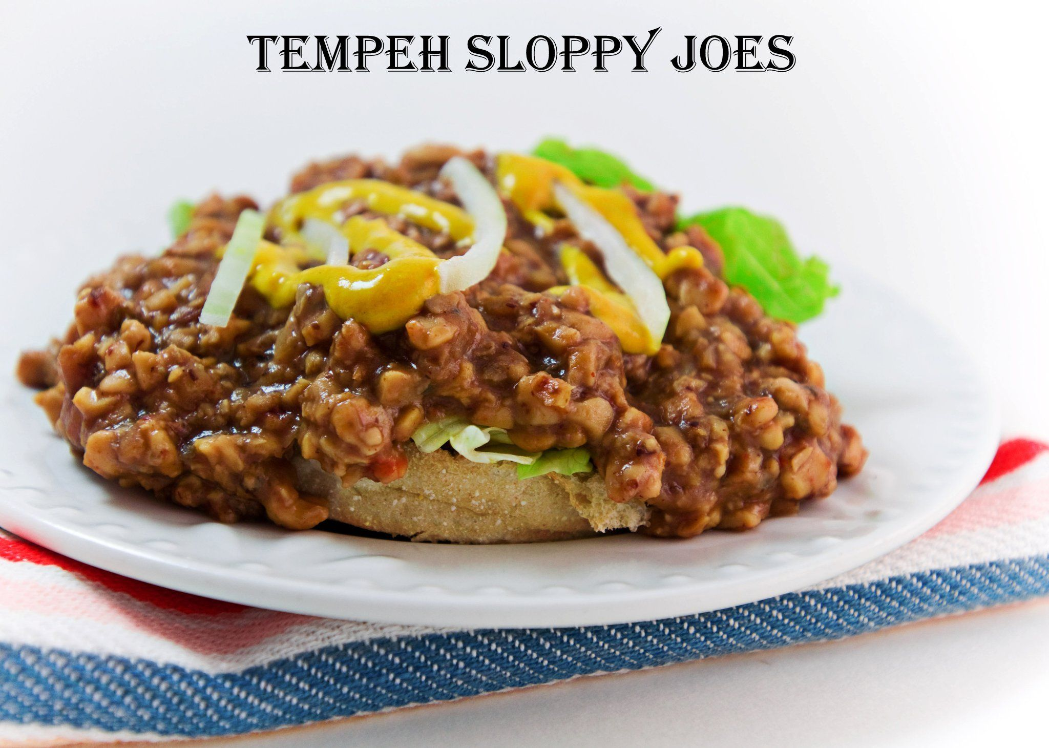 Tempeh Sloppy Joes | Melomeals Healthy E-Book Recipes | Pinterest