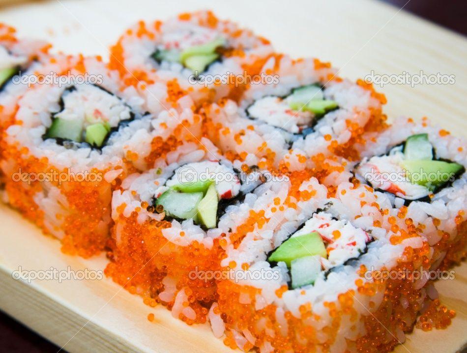 California-sushi-rolls | Recipes | Pinterest