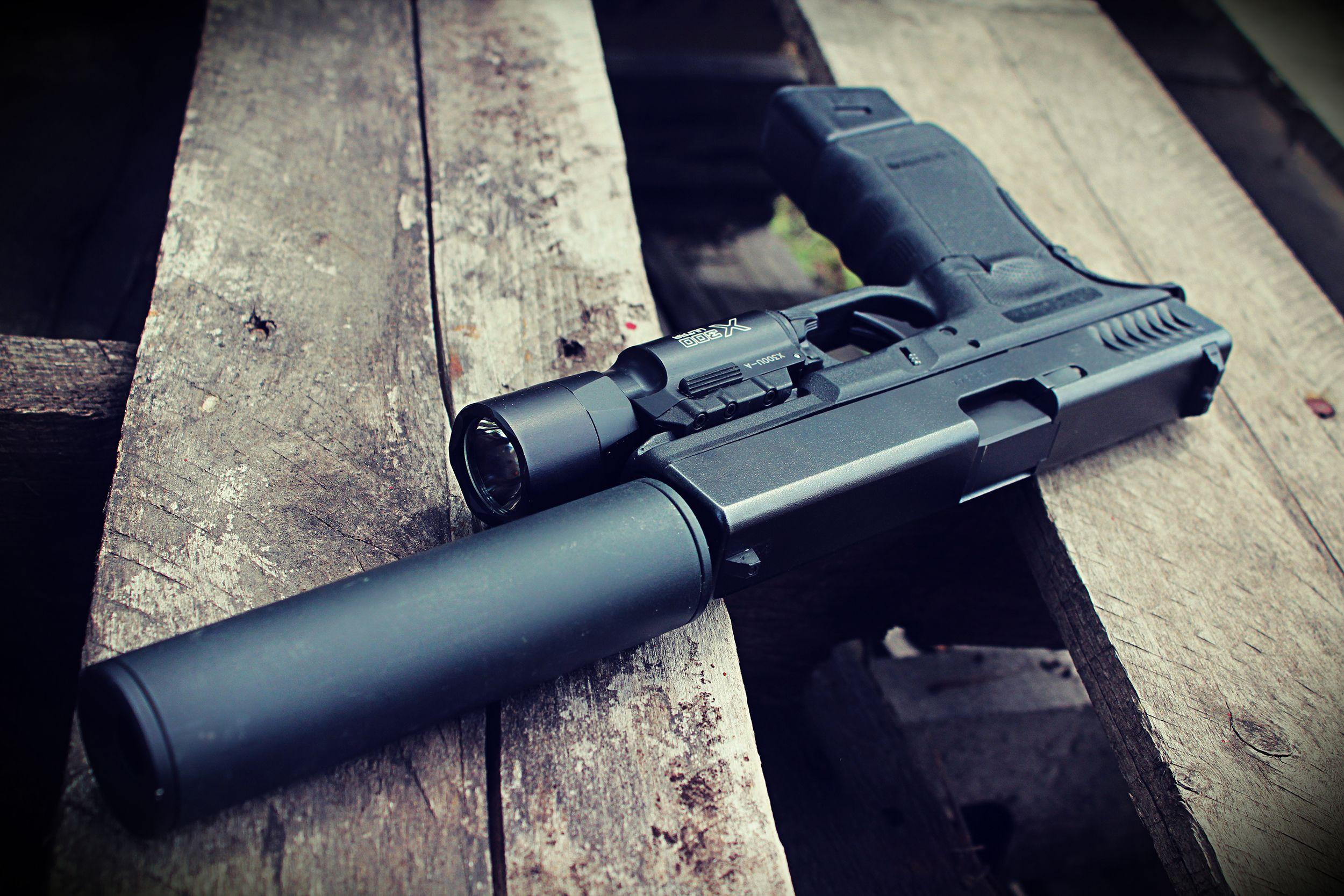 Glock 22 RTF2 #surefire #glock | Schools, Schooled ...
