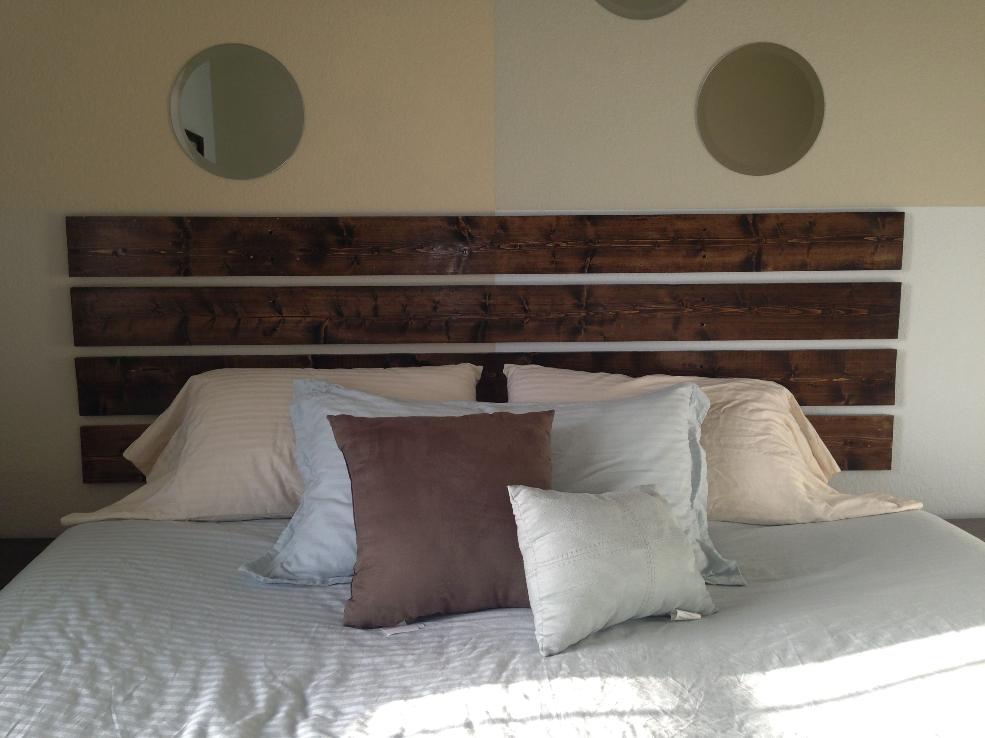 diy headboard was super easy building a beautiful home