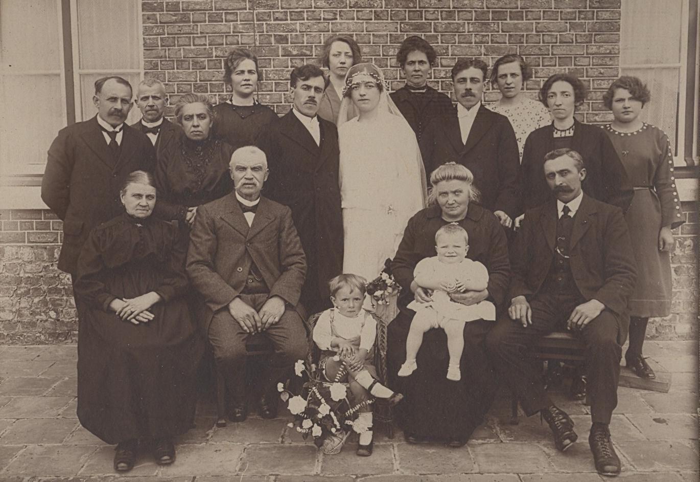 Mariage de louis et marthe dujardin pr servez vos for Famille dujardin