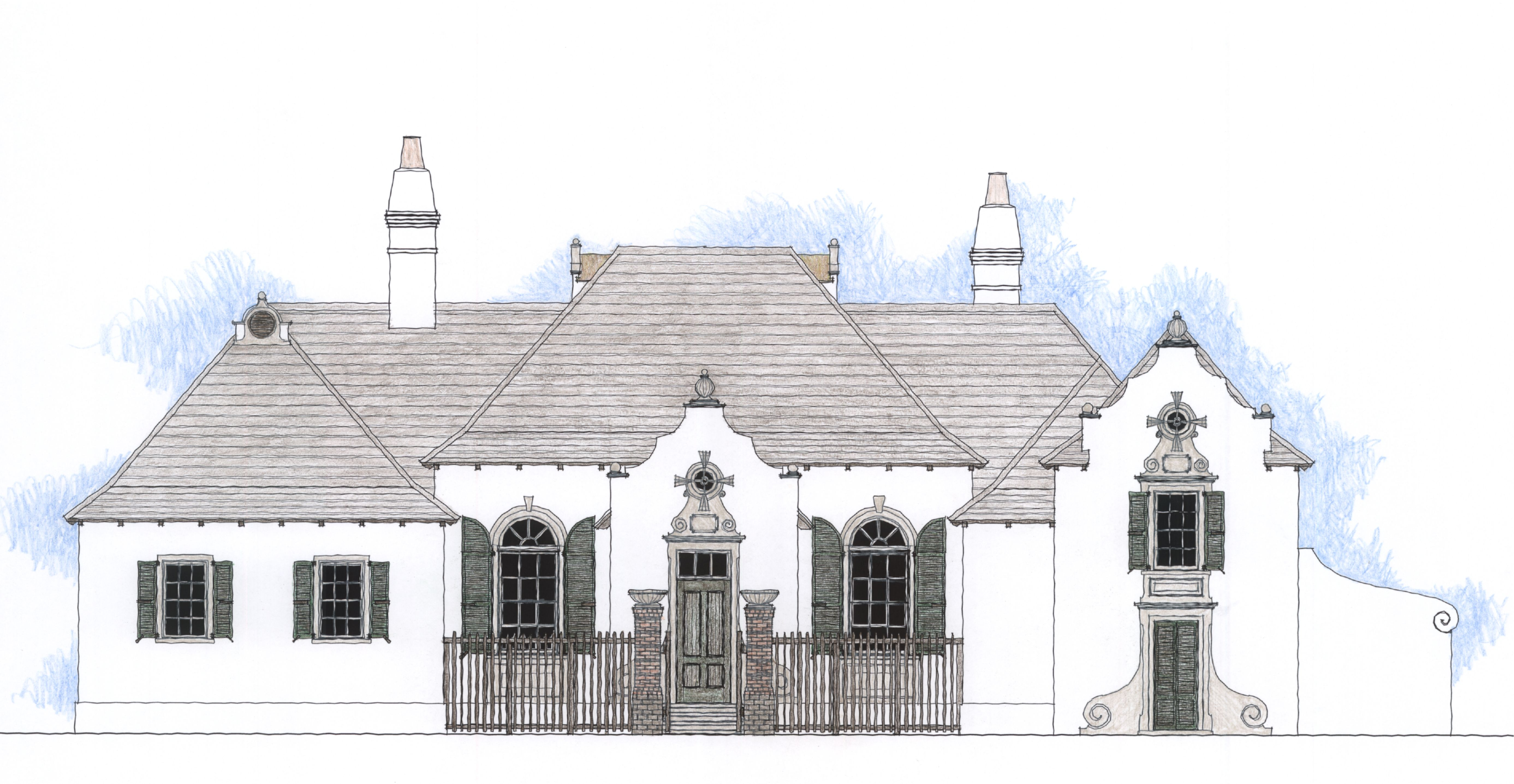 Dutch caribbean colonial architecture british west for Case in stile british west indies