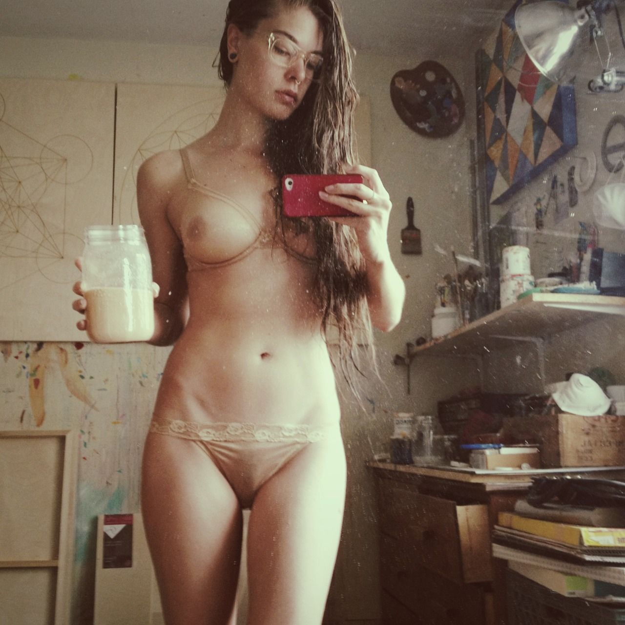 выложенные фото голых девушек в сети