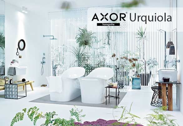 Axor Urquiola invites the mix of styles in the bathroom. A fusion of old and new, design and technology, the modern classic