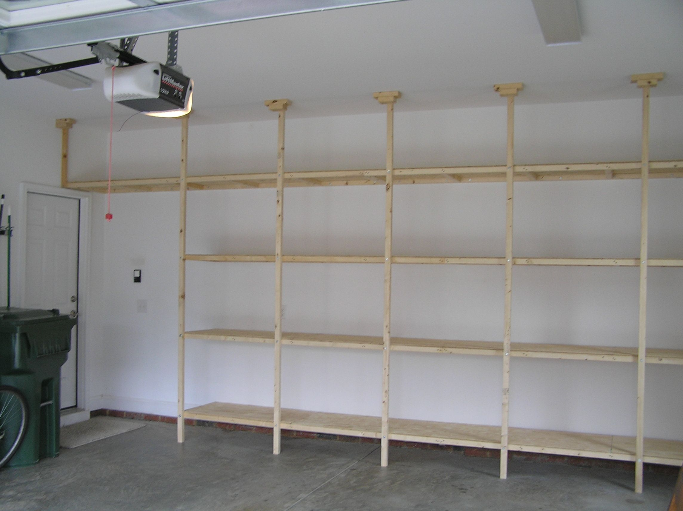 http www.askthebuilder.com how-to-garage-shelving-ideas - Garage shelf idea dream home