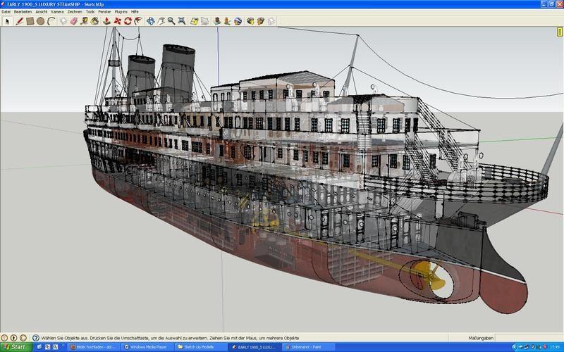 Sketchup google 3 d warehouse social studies pinterest for Sketchup deck design