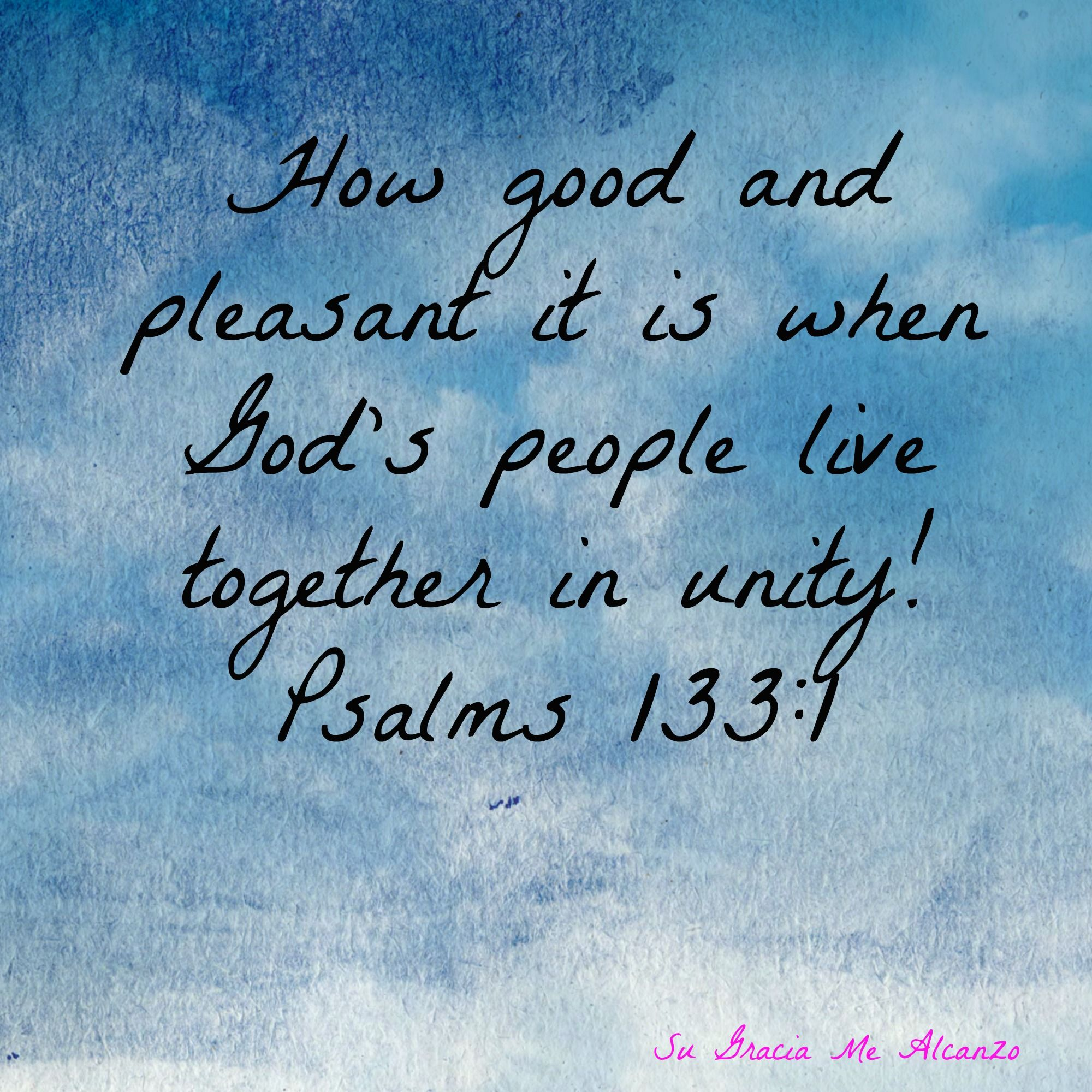 Bible Quotes On Unity. QuotesGram