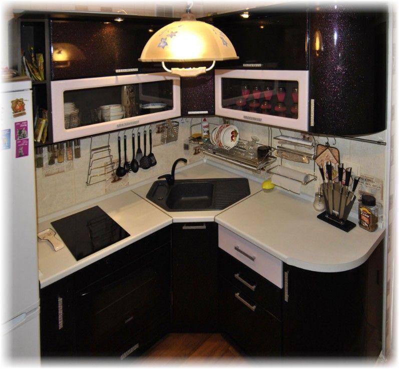 Кухни маленькие угловые с угловой мойкой дизайн