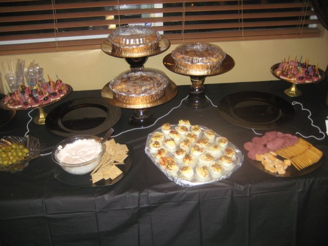 Roaring 20s party food | Roaring 20's | Pinterest