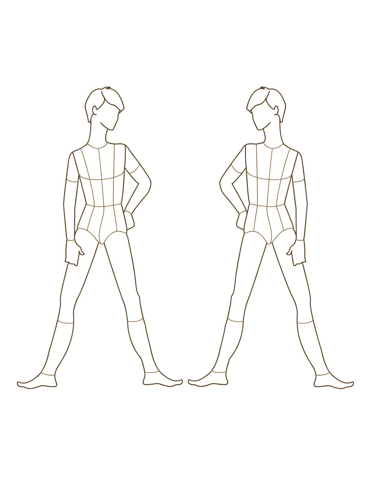 915c1f1aaf5 Female fashion figure croqui