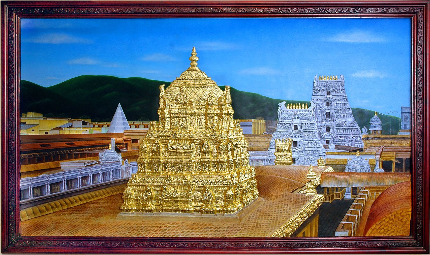 Pin by classics india on 3d mural oil paintings covered for 3d mural art in india