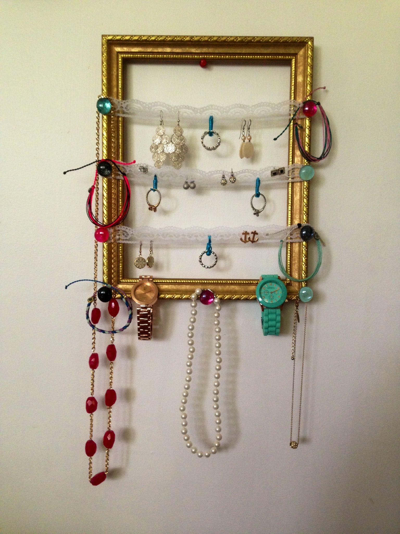 Homemade Jewelry Organizer Book Jewelry Ideas