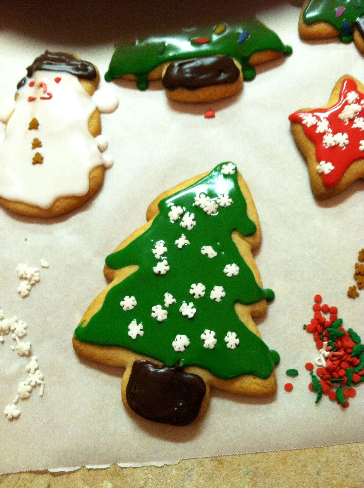 Christmas Decorated Sugar Cookies | Recipes | Pinterest