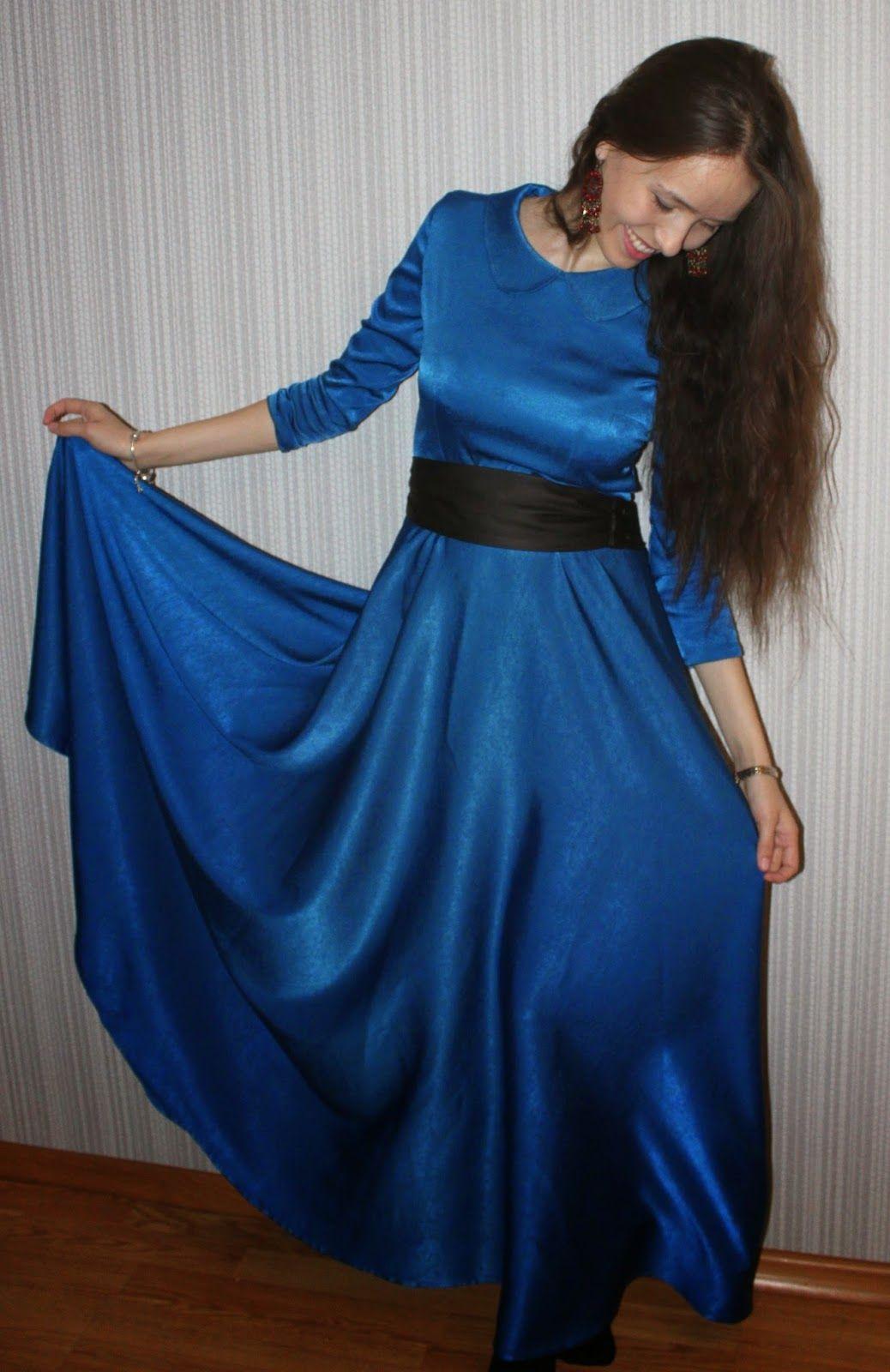 Платье в пол сшить