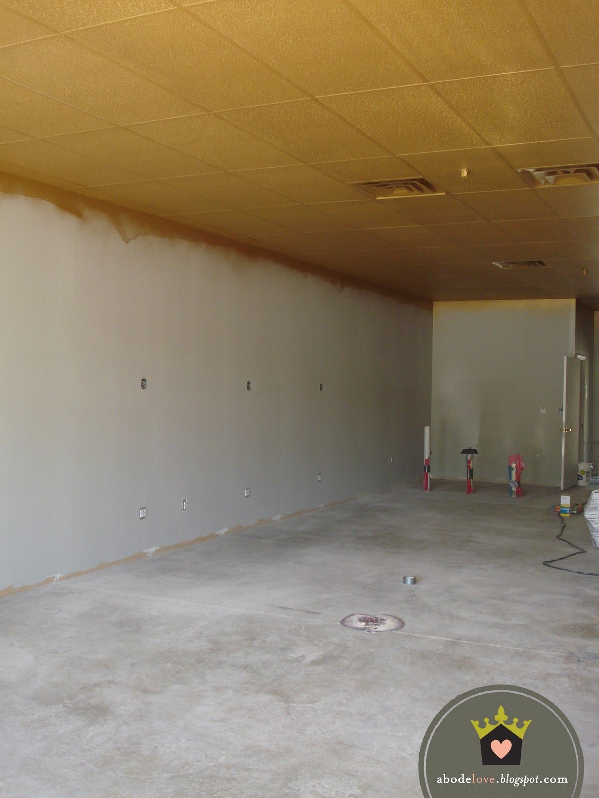 paint the drop ceiling for pizazz 1613 ideas pinterest. Black Bedroom Furniture Sets. Home Design Ideas