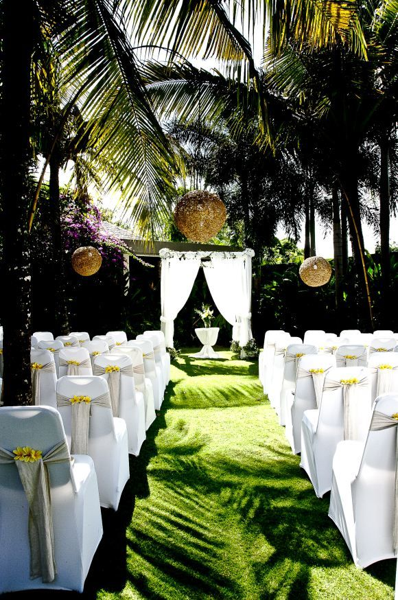 Bali wedding ceremony setup bali weddings pinterest for Bali wedding decoration hire