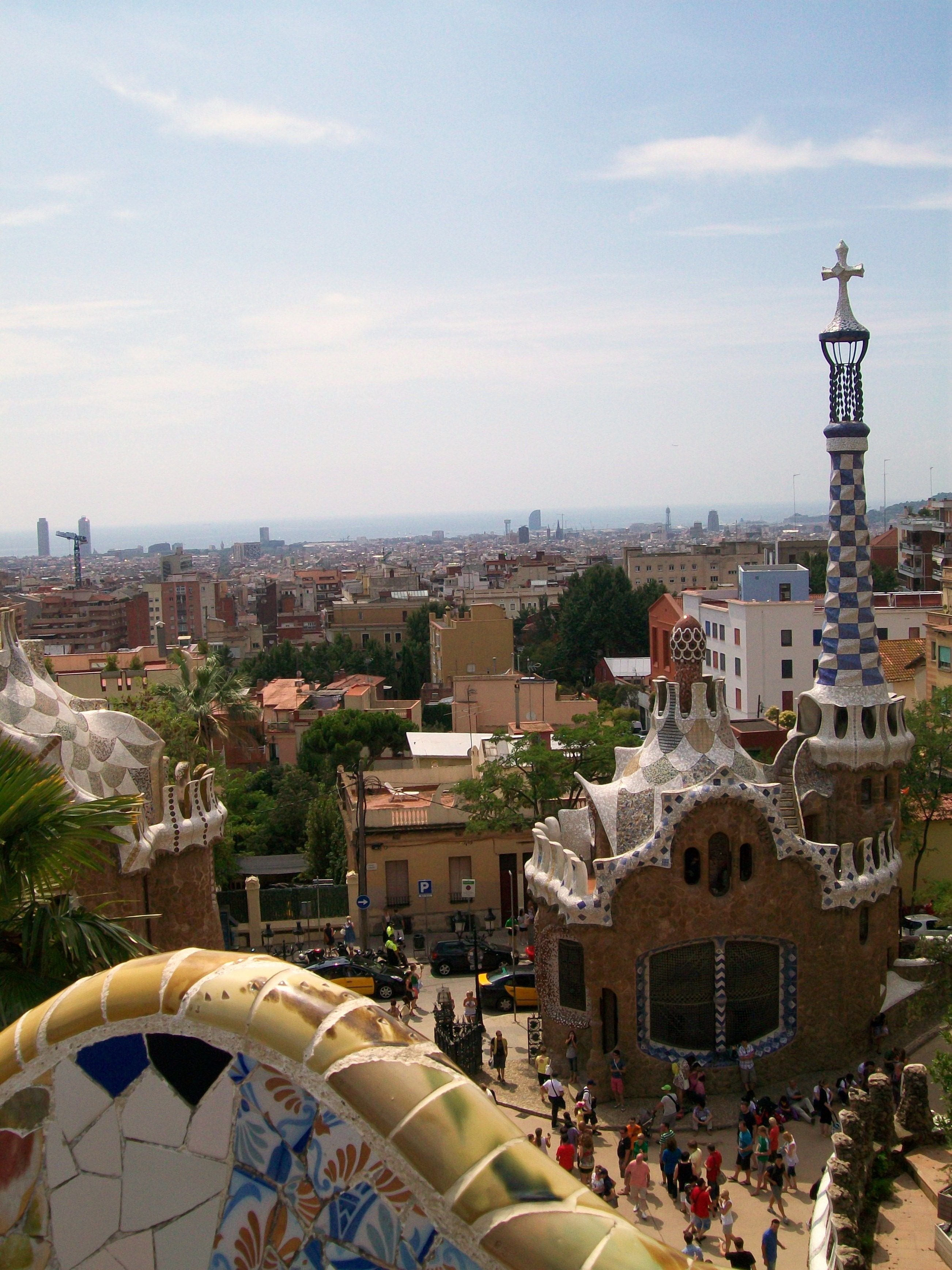 Park Güell, Barcelona.  Places I Have Been  Pinterest