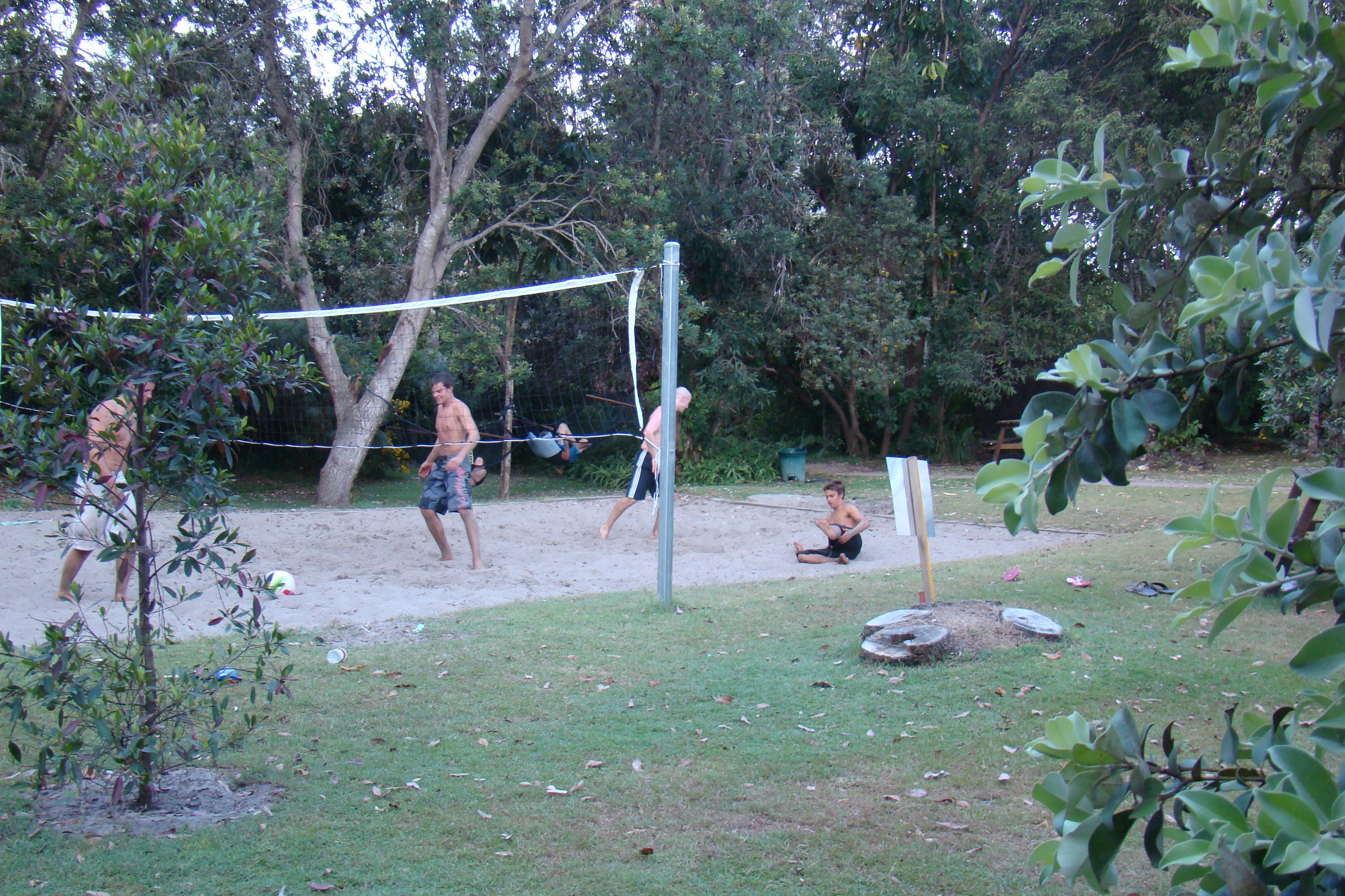 Backpackers Inn (Byron Bay // Australien): Aussenbereich