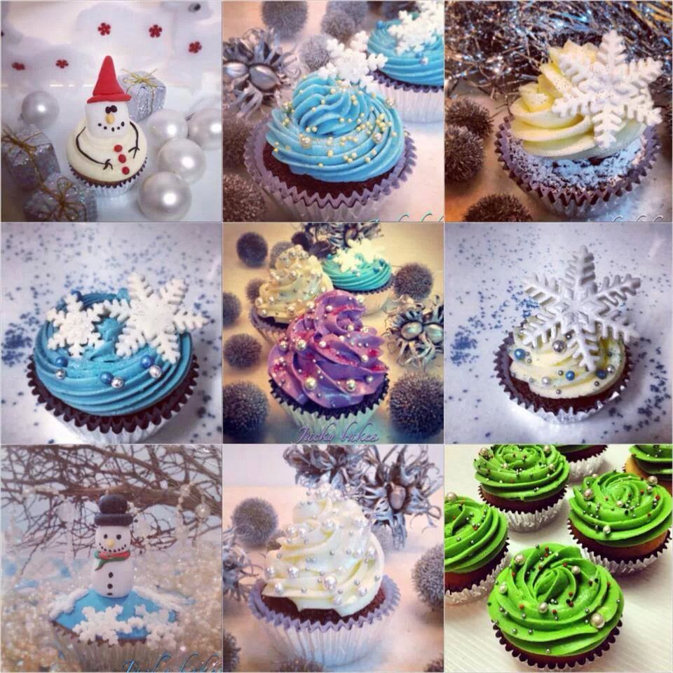 Christmas Cupcake decorating ideas Holiday Cake Designz ...