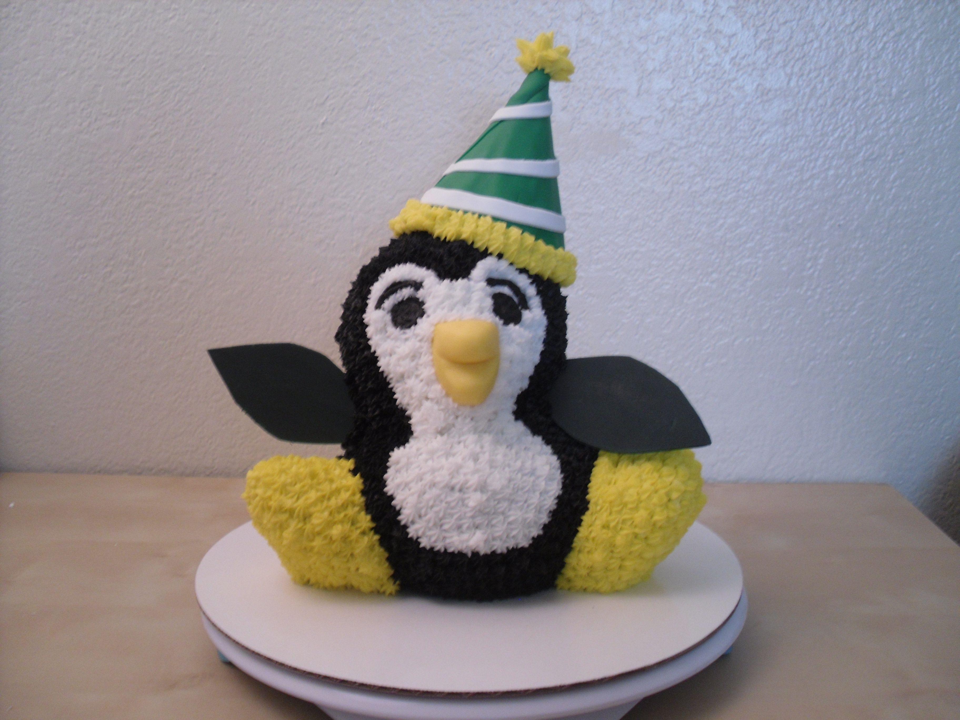 Birthday Cake Ideas Penguin : Penguin birthday cake Yummy Food Stuff Pinterest