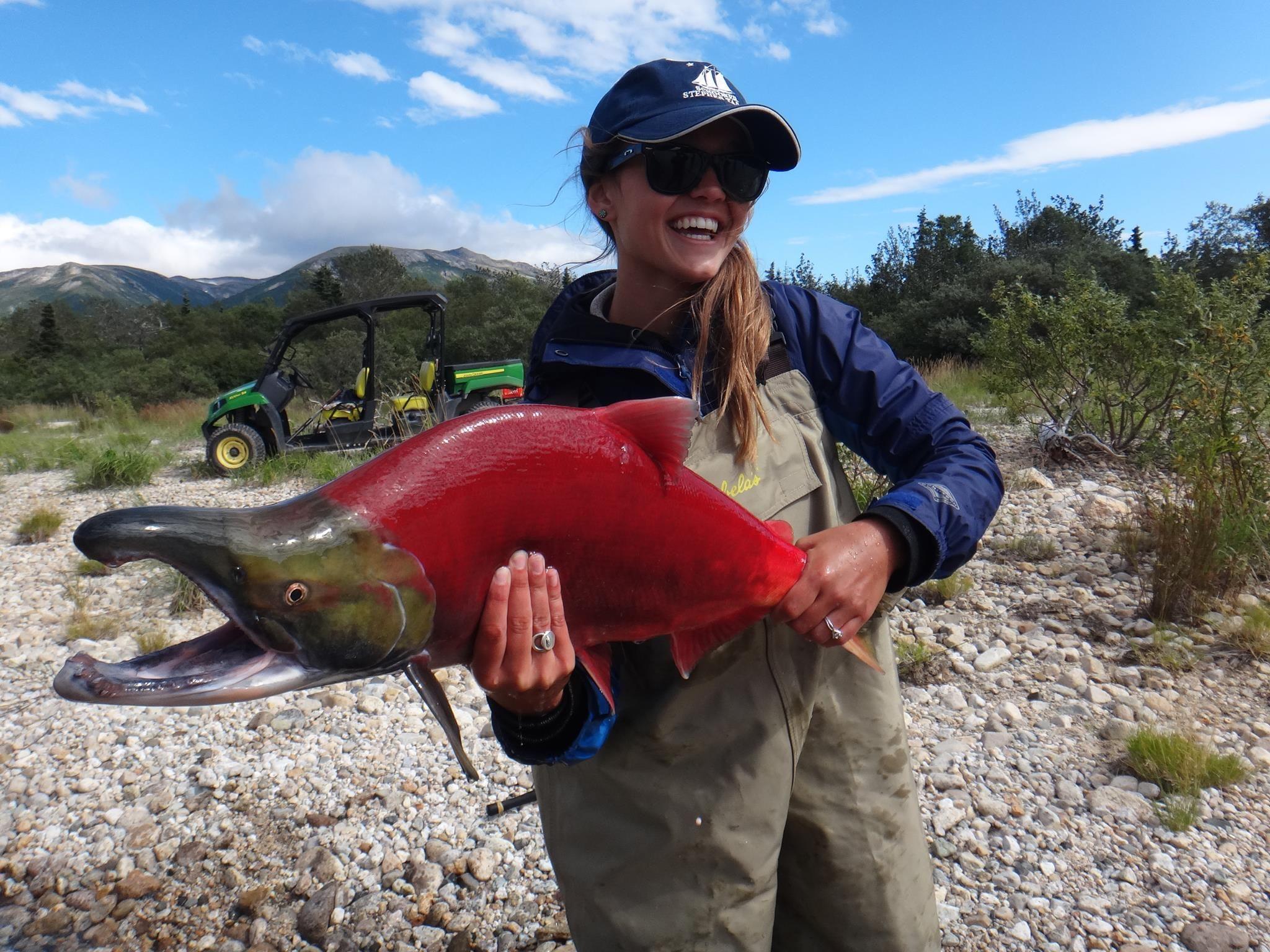 Sockeye salmon fly fishing pinterest for Fly fishing for salmon
