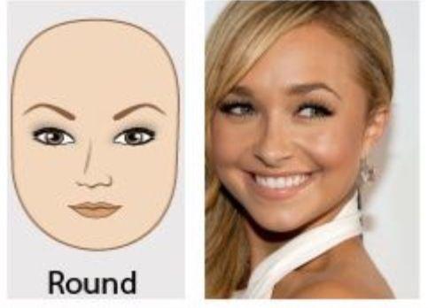 Round face eyebrow shape | Make-up | Pinterest