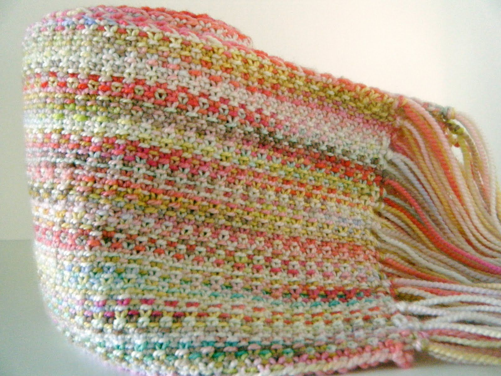 Crochet Patterns Linen Yarn : Linen stitch scarf in Koigu yarn Traditional Crafts and Folk Art ...