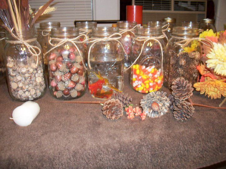 Simple Table Decorations For Fall Holidays Pinterest