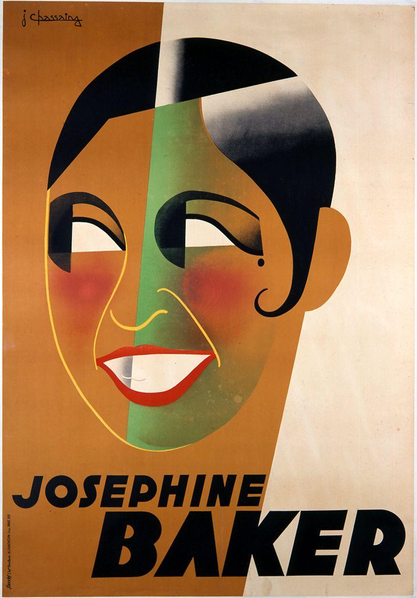 Josephine baker poster art pinterest for Affiche deco
