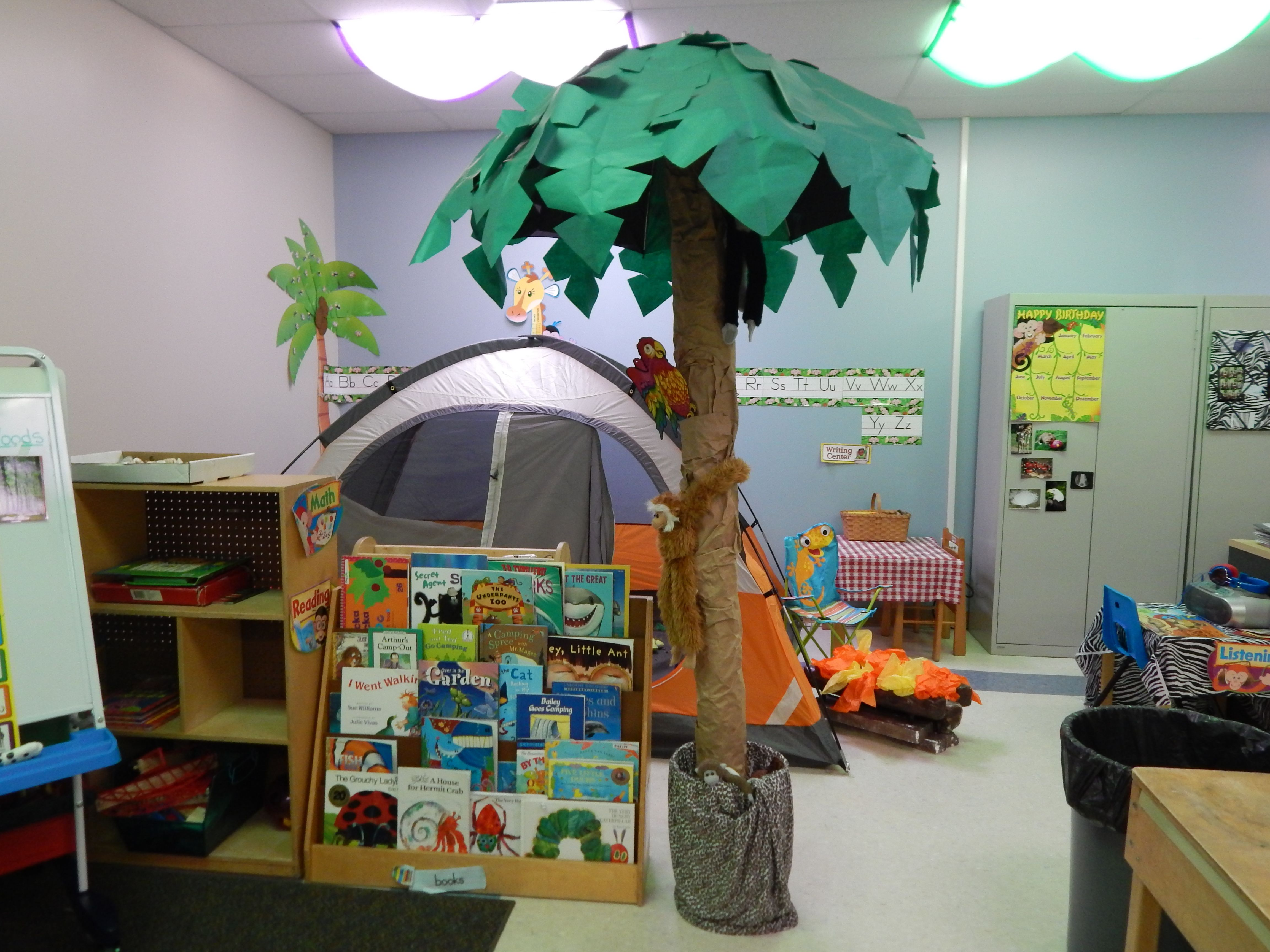 Classroom Decorating Ideas Camping Theme : Camping classroom ideas pinterest